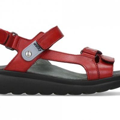 wolky-sandalen-01525-mile-50500-rood-leer
